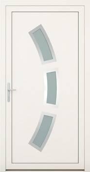 Алюмінієві зовнішні двері Deco wisniowski. Колекція Deco 133