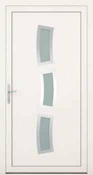 Алюмінієві зовнішні двері Deco wisniowski. Колекція Колекція Deco 134