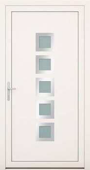 Алюмінієві зовнішні двері Deco wisniowski. Колекція Deco 135