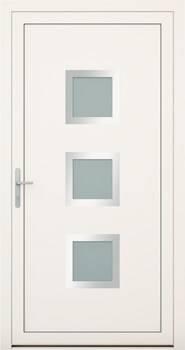 Алюмінієві зовнішні двері Deco wisniowski. Колекція Deco 136