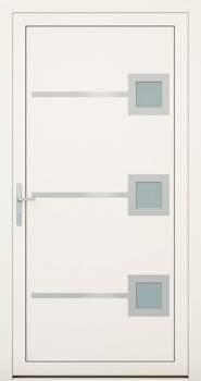 Алюмінієві зовнішні двері Deco wisniowski. Колекція Deco 138