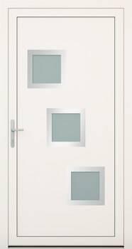 Алюмінієві зовнішні двері Deco wisniowski. Колекція Deco 140