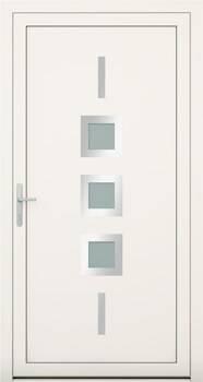 Алюмінієві зовнішні двері Deco wisniowski. Колекція Deco 141