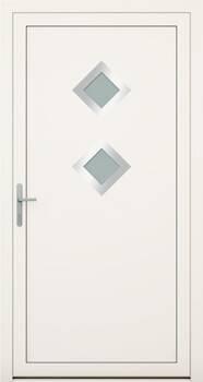 Алюмінієві зовнішні двері Deco wisniowski. Колекція Deco 142