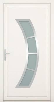 Алюмінієві зовнішні двері Deco wisniowski. Колекція Deco 143