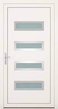 Алюмінієві зовнішні двері Deco wisniowski. Колекція Deco 144
