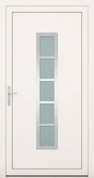 Алюмінієві зовнішні двері Deco wisniowski. Колекція Deco 145
