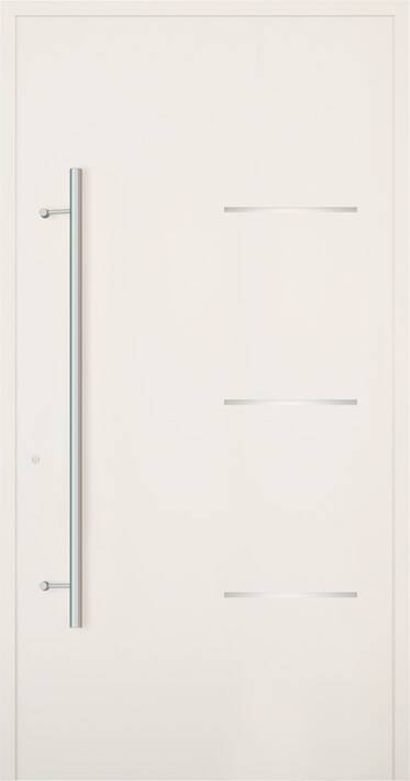 Вхідні алюмінієві двері Creo wisniowski. Модель 300