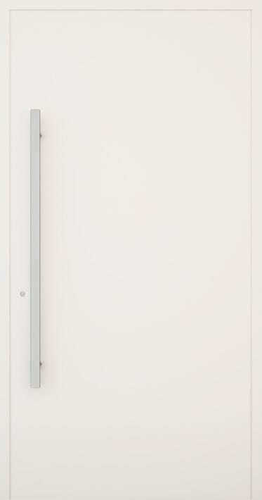 Вхідні алюмінієві двері Creo wisniowski. Модель 310