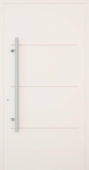 Вхідні алюмінієві двері Creo wisniowski. Модель 311