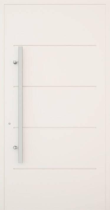 Вхідні алюмінієві двері Creo wisniowski. Модель 312