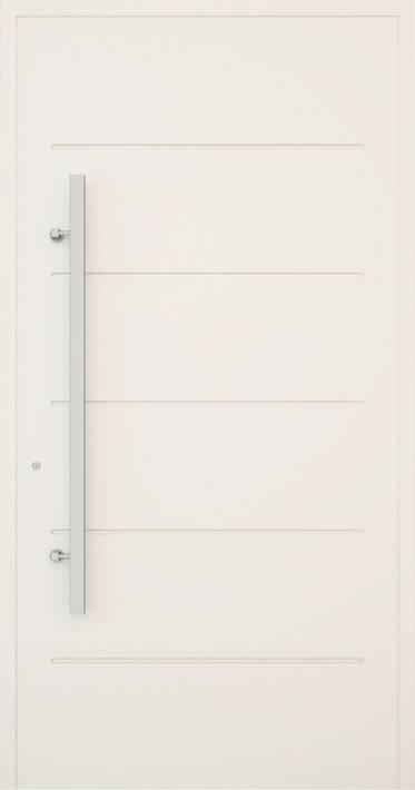 Вхідні алюмінієві двері Creo wisniowski. Модель 313