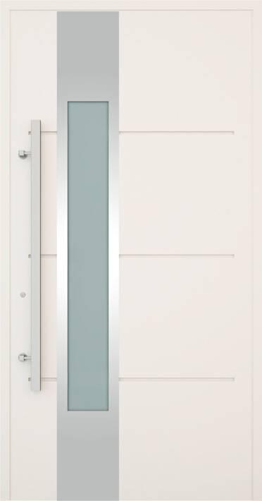 Вхідні алюмінієві двері Creo wisniowski. Модель 321