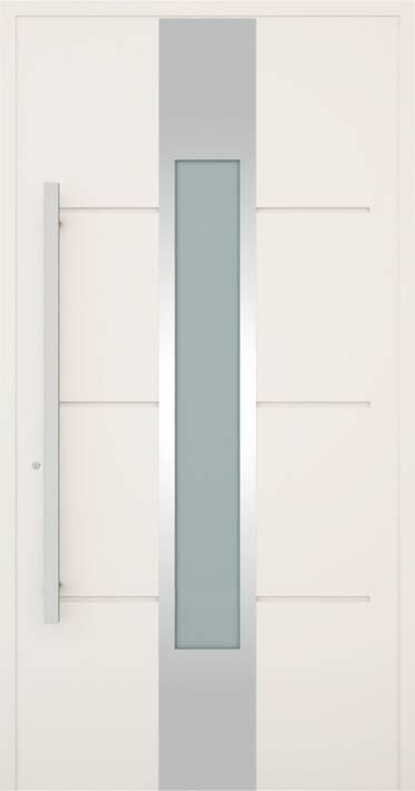 Вхідні алюмінієві двері Creo wisniowski. Модель 322