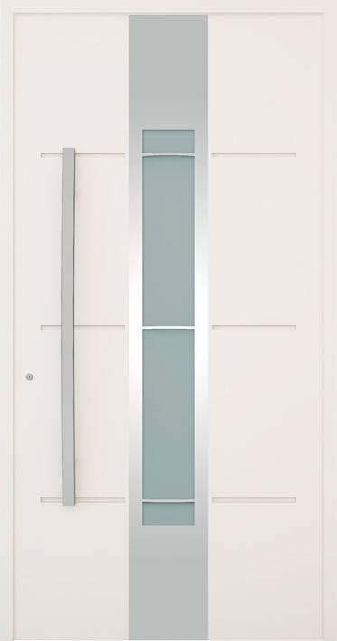 Вхідні алюмінієві двері Creo wisniowski. Модель 325