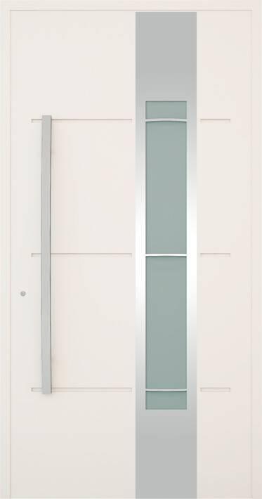 Вхідні алюмінієві двері Creo wisniowski. Модель 326