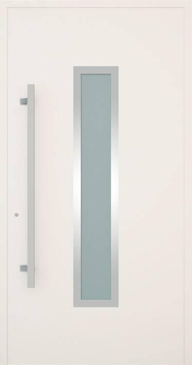 Вхідні алюмінієві двері Creo wisniowski. Модель 331