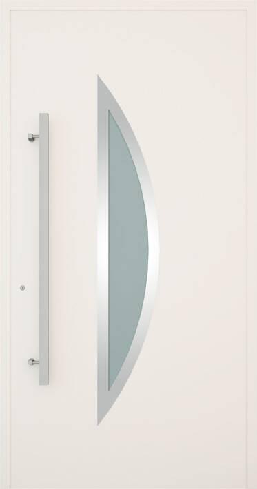 Вхідні алюмінієві двері Creo wisniowski. Модель 332