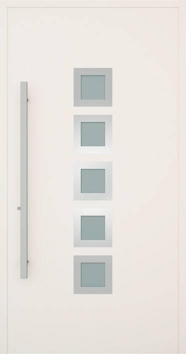 Вхідні алюмінієві двері Creo wisniowski. Модель 335
