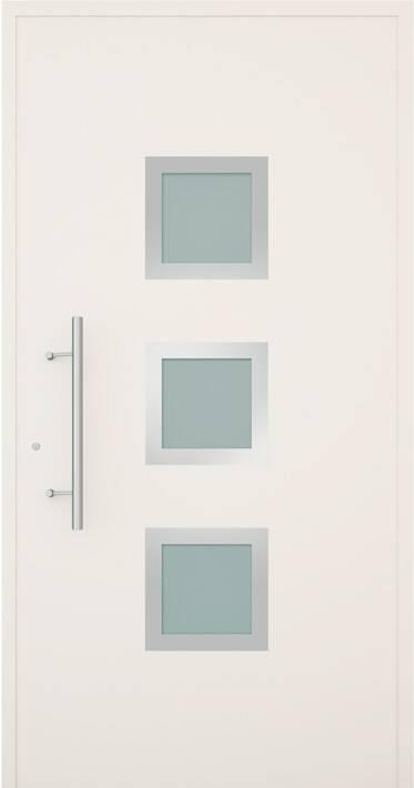 Вхідні алюмінієві двері Creo wisniowski. Модель 336