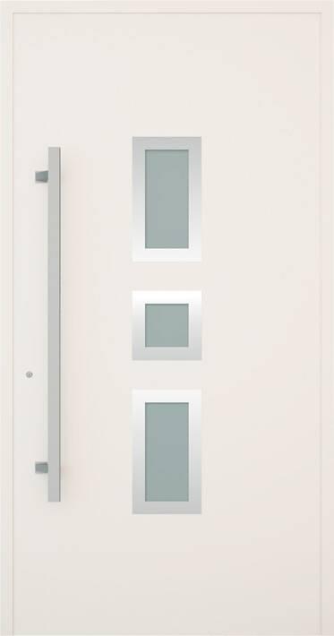 Вхідні алюмінієві двері Creo wisniowski. Модель 337