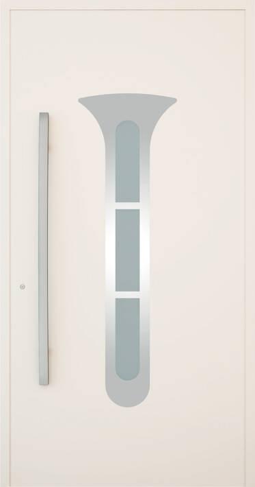 Вхідні алюмінієві двері Creo wisniowski. Модель 339