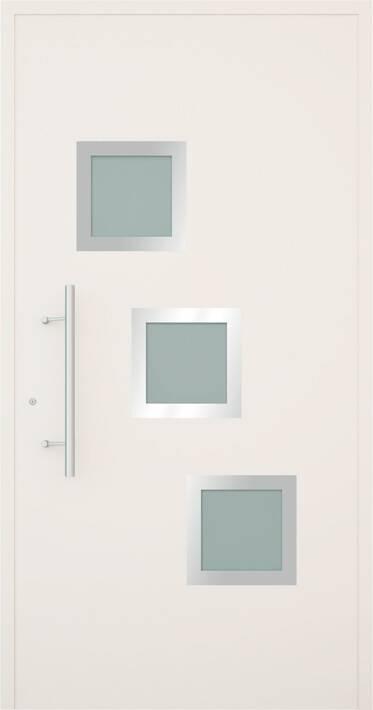 Вхідні алюмінієві двері Creo wisniowski. Модель 340