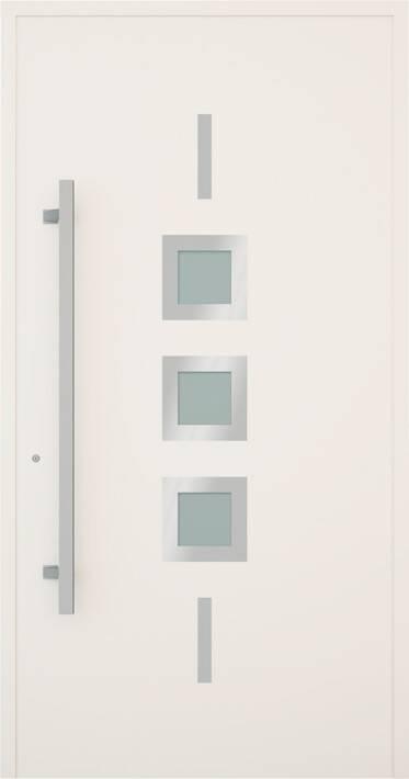 Вхідні алюмінієві двері Creo wisniowski. Модель 341