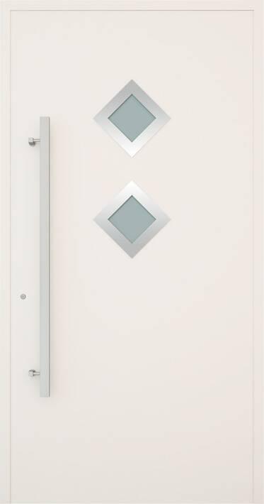 Вхідні алюмінієві двері Creo wisniowski. Модель 342