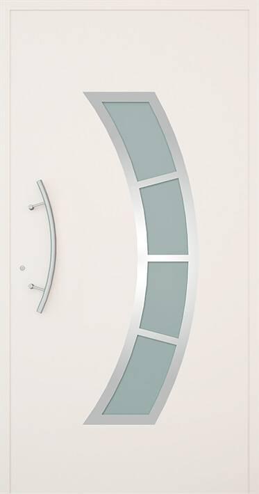 Вхідні алюмінієві двері Creo wisniowski. Модель 343