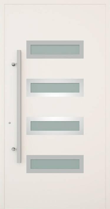 Вхідні алюмінієві двері Creo wisniowski. Модель 344