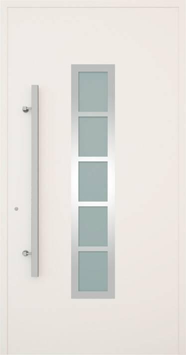 Вхідні алюмінієві двері Creo wisniowski. Модель 345