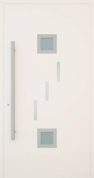 Вхідні алюмінієві двері Creo wisniowski. Модель 346