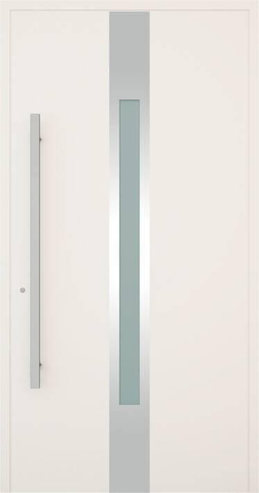 Вхідні алюмінієві двері Creo wisniowski. Модель 347