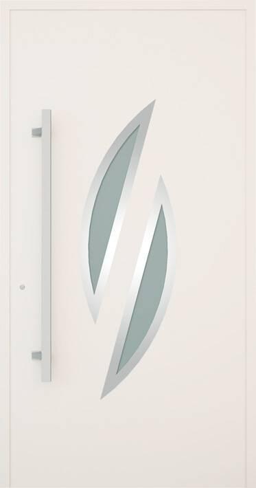 Вхідні алюмінієві двері Creo wisniowski. Модель 348