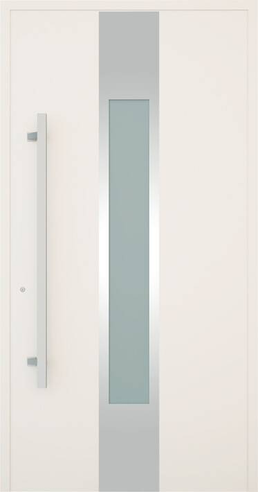Вхідні алюмінієві двері Creo wisniowski. Модель 349