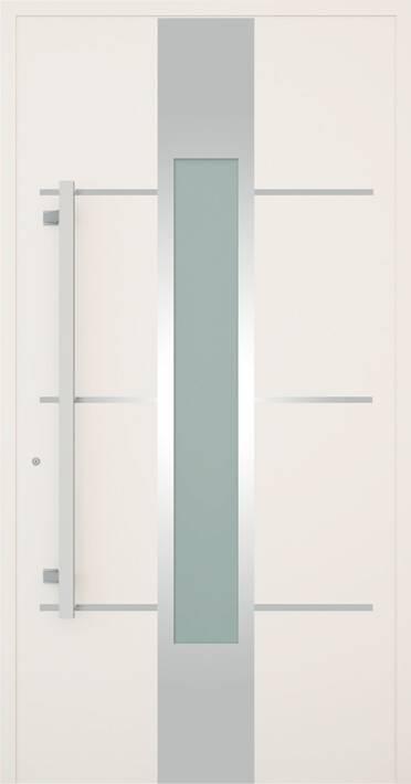 Вхідні алюмінієві двері Creo wisniowski. Модель 350
