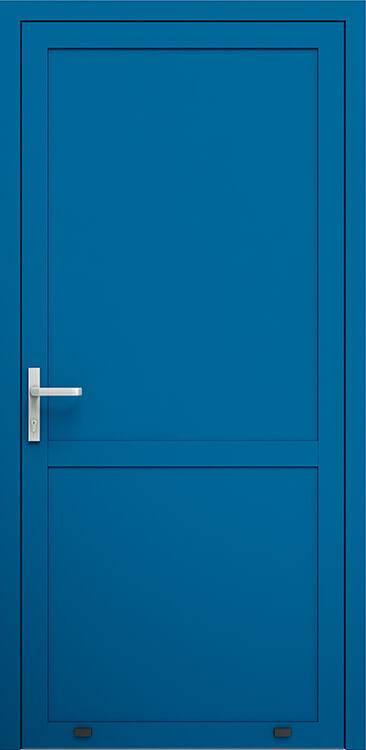 Алюмінієві зовнішні двері Plus Line wisniowski. AW 007/P | RAL 5010