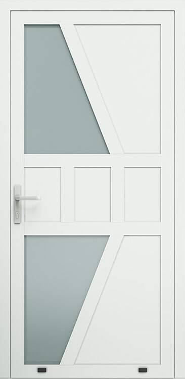 Алюмінієві зовнішні двері Plus Line wisniowski. AW 020 | RAL 9016