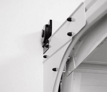 Безпечні ворота prime для гаражу. Бічні кришки валу