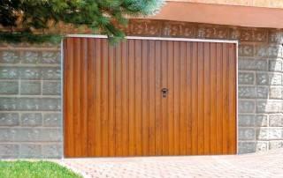 Розпашні гаражні ворота wisniowski-2