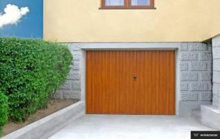 Розпашні гаражні ворота wisniowski-3