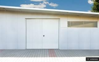 Розпашні гаражні ворота wisniowski-4