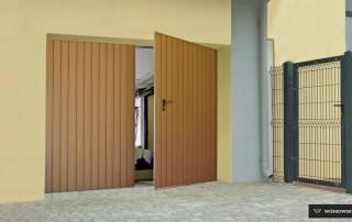Розпашні гаражні ворота wisniowski-6