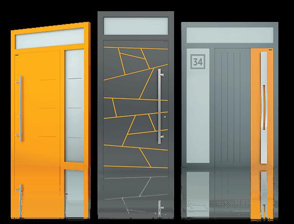 Версії дверей моделі Creo 300 wisniowski