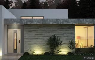 Вхідні алюмінієві двері Creo wisniowski-2