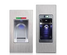 Вхідні алюмінієві двері Creo wisniowski. Одно- та двоканальний зчитувач відбитків пальців