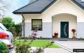 Алюмінієві зовнішні двері Deco wisniowski-1