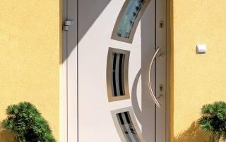 Алюмінієві зовнішні двері Deco wisniowski-5
