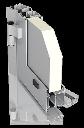 Алюмінієві зовнішні двері DECO BASIC wisniowski.
